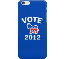 Vote Democrat 2012 T Shirt iPhone Case/Skin