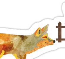 The Fox and the Vineyard Sticker