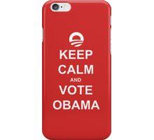 Keep Calm and Vote Obama 2012 Shirt iPhone Case/Skin