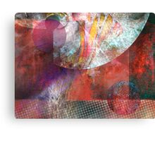 Meeting in The Middle Canvas Print