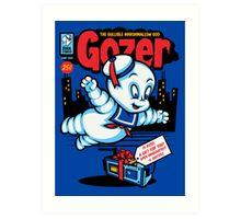 Gozer the Gullible God Art Print