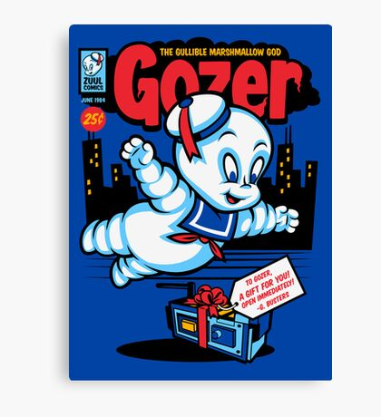 Gozer the Gullible God Canvas Print