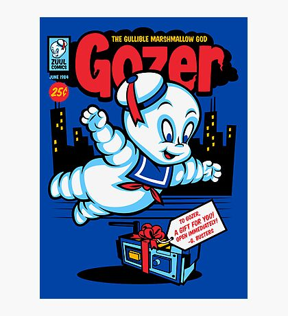 Gozer the Gullible God Photographic Print