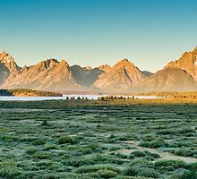 Grand Teton Sunrise II by Chris Tarling