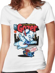 Gozer the Gullible God Women's Fitted V-Neck T-Shirt
