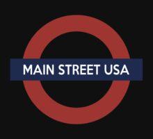 Main Street USA Line One Piece - Short Sleeve