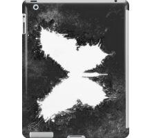 White butterfly iPad Case/Skin