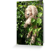 Tree climbing Stuffit. Greeting Card