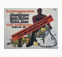 Einrichtungsgegenstände aus Aluminium Kupfer Messing Nickel Zinn sind enteignet liefert sie ab! 1316 One Piece - Short Sleeve