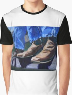 Cowboy Boots at Rest Graphic T-Shirt