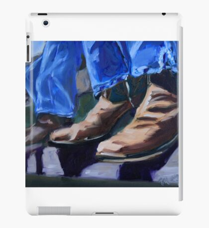 Cowboy Boots at Rest iPad Case/Skin