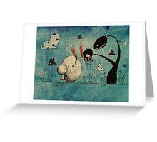 A cherished friend Greeting Card