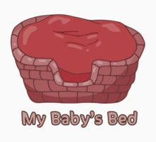 My Baby's Bed by hybridwing