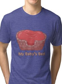 My Baby's Bed Tri-blend T-Shirt