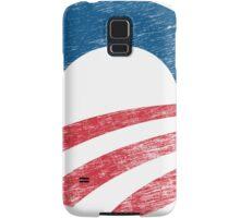 Retro Obama Logo Shirt Samsung Galaxy Case/Skin