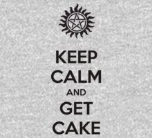Keep calm and get cake (Supernatural) by Vendetta17