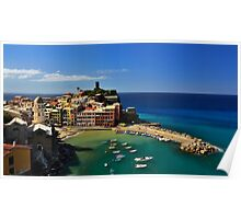 5 terre Vernazza Poster