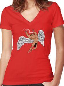 Brock Anthem Women's Fitted V-Neck T-Shirt