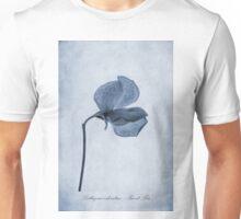 Sweet Pea Cyanotype Unisex T-Shirt