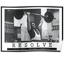 Resolve Poster