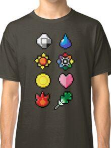 Indigo League Badges V.2 Classic T-Shirt