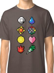 Indigo League Badges V.2 Classic T-Shirt