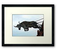 Long Horn Saloon Framed Print