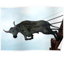 Long Horn Saloon Poster