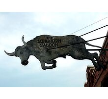 Long Horn Saloon Photographic Print