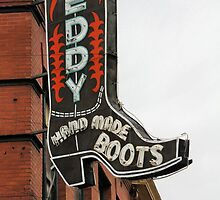 Leddy , Hand Made Boots by SuddenJim