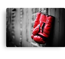 Gloves Off Canvas Print