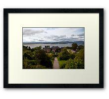 Bantry House and Bay Framed Print