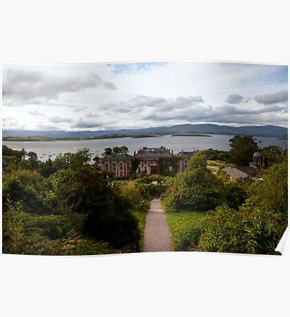 Bantry House and Bay Poster