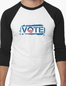 Vote Obama 2012 Women's T Shirt Men's Baseball ¾ T-Shirt