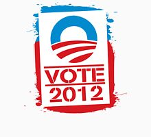 Vote Obama 2012 Women's T Shirt Womens Fitted T-Shirt