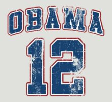 Retro Obama 2012 Women's Shirt by ObamaShirt