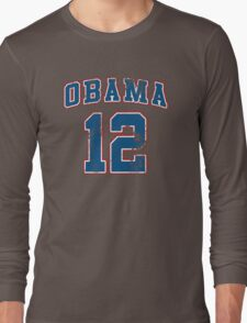 Retro Obama 2012 Women's Shirt Long Sleeve T-Shirt