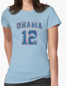 Retro Obama 2012 Women's Shirt Womens Fitted T-Shirt