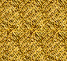 Yellow Lines Knit by Lee Meredith