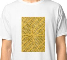 Yellow Lines Knit Classic T-Shirt