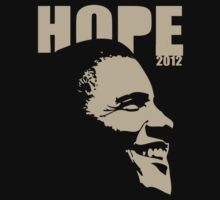 Obama Hope 2012 Women's Shirt by ObamaShirt