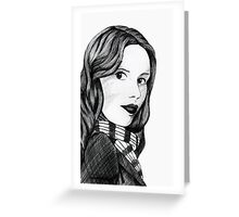 Amelia Pond  Greeting Card