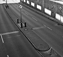 Empty road by Manuel Gonçalves