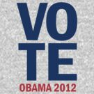 Vote Obama 2012 Women's Shirt by ObamaShirt