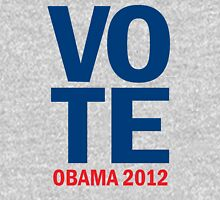 Vote Obama 2012 Women's Shirt Womens Fitted T-Shirt
