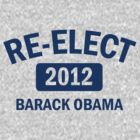 Re-Elect Obama 2012 Women's Shirt by ObamaShirt