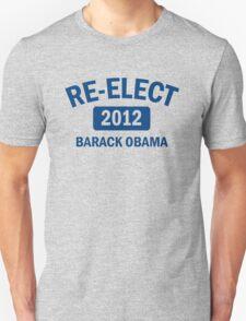 Re-Elect Obama 2012 Women's Shirt Unisex T-Shirt