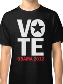 Vote Obama Women's Shirt Classic T-Shirt