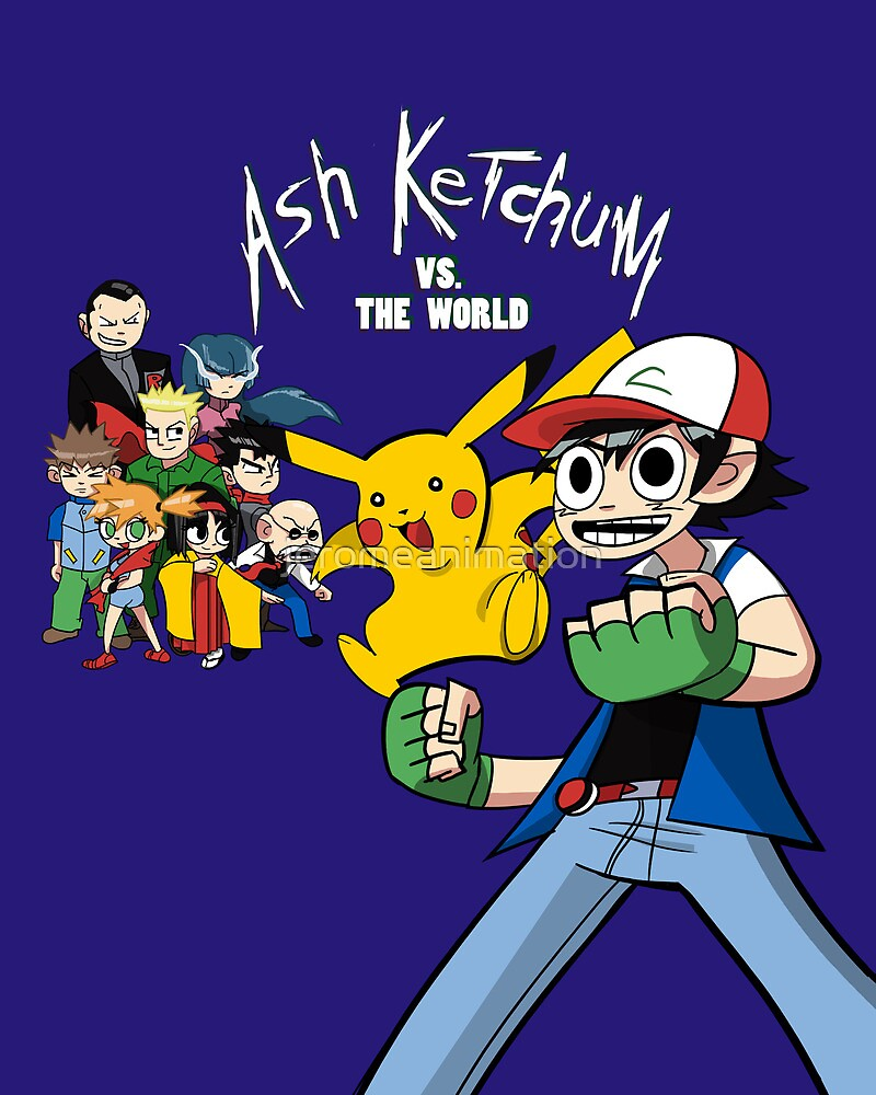 Ash Ketchum VS the World by jeromeanimation