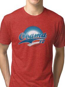 Vintage Obama 12 Shirt Tri-blend T-Shirt
